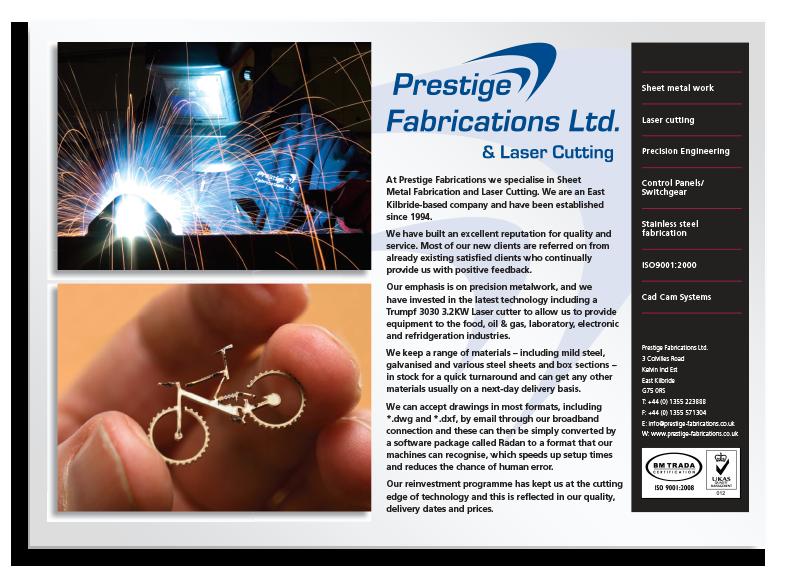 Prestige Brochure